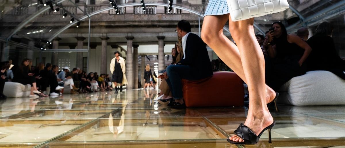 Women's Footwear on the Catwalks SS2020